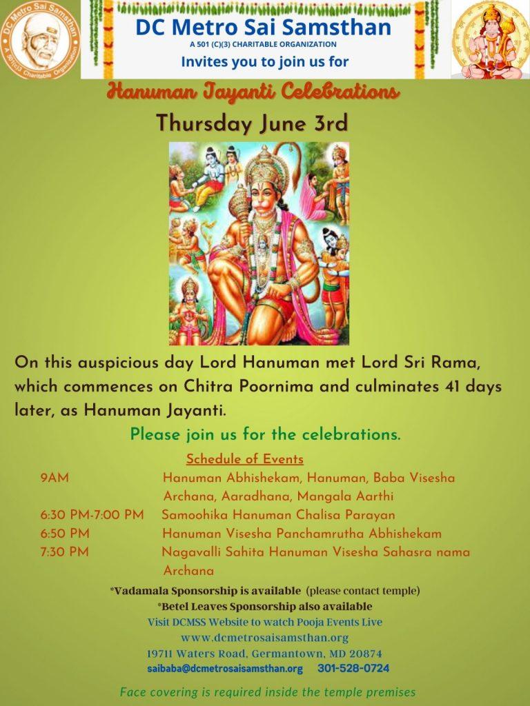 Hanuman Jayanti Poster